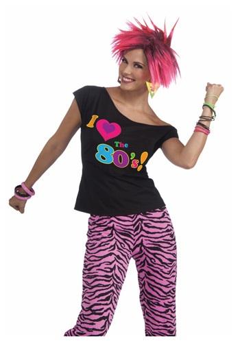 Camisas remix de los años 80