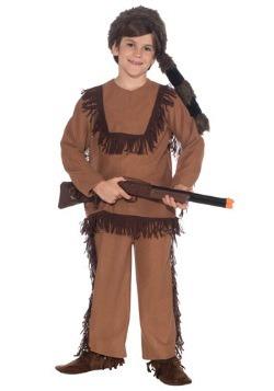 Disfraz infantil de Davy Crockett