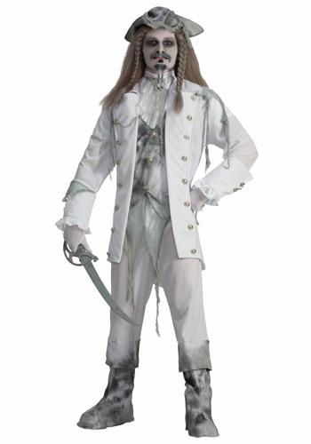 Disfraz de capitán pirata fantasma para hombre