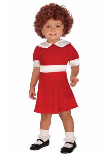 Disfraz de Annie para niños pequeños