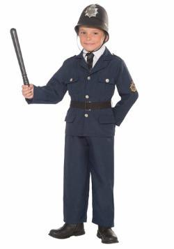 Disfraz de Bobby británico para niños