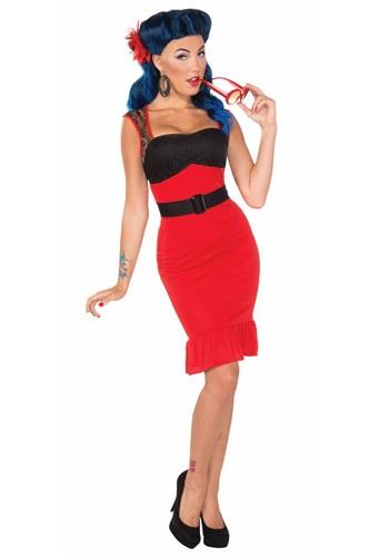 Vestido Scarlet Rose Rock-a-billy