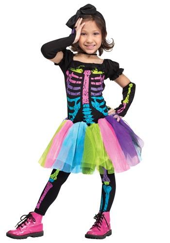 Disfraz Funky Punky Bones para niños pequeños