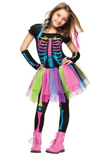 Disfraz Funky Punky Bones para niñas