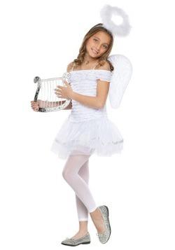 Disfraz de angelito para niñas