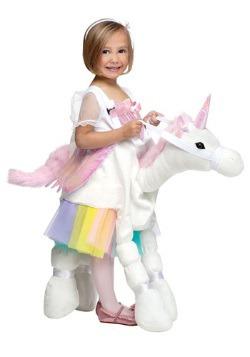 Disfraz de montar un unicornio