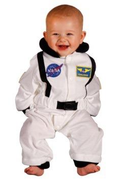Traje de astronauta infantil frente