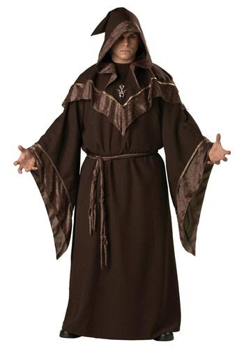 Disfraz de brujo místico talla extra