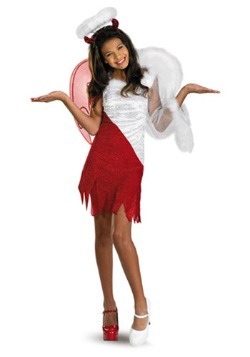 Disfraz de diablo celestial tween