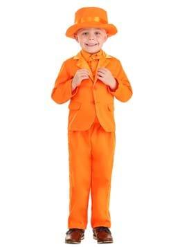 Esmoquin naranja para niños pequeños