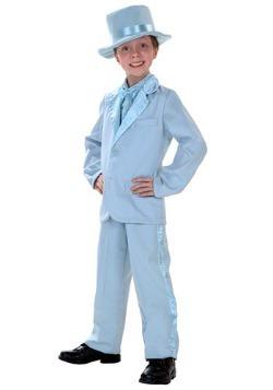 Esmoquin infantil azul