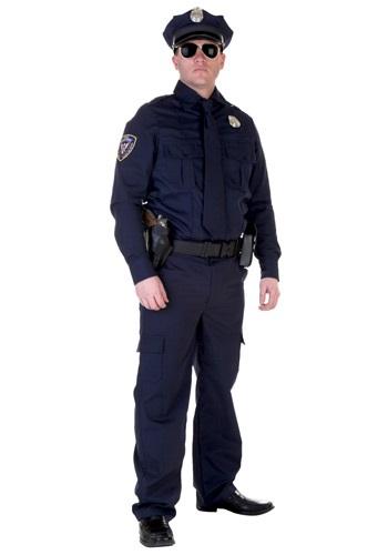 Disfraz de policía auténtico talla extra
