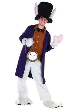 Disfraz de conejito blanco para adolescente