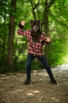 Disfraz de hombre lobo talla extra