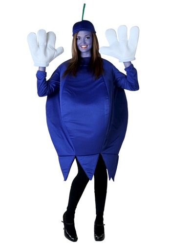 Disfraz de mora azul para adulto