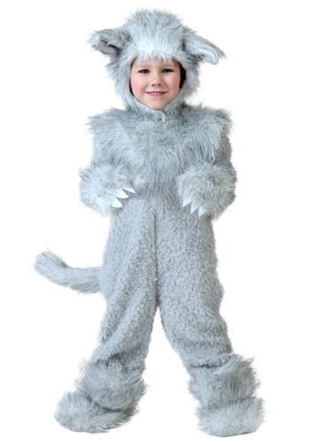 Disfraz de lobo para niños pequeños