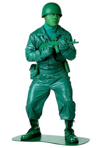 Disfraz verde de hombre del ejército
