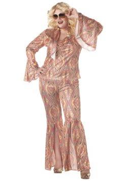 Disfraz Disco para mujer talla extra