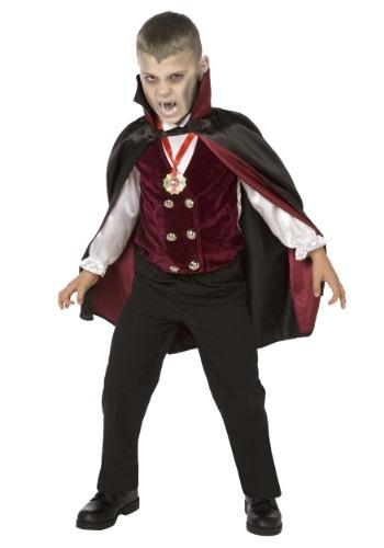 Disfraz de Vampiro Deluxe para niños