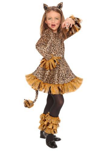 Disfraz de leopardo para niñas