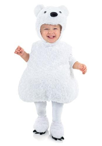 Disfraz de bebé de oso polar