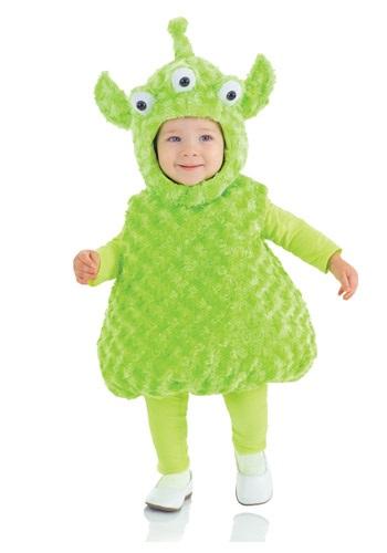 Disfraz de alienígena para niños pequeños