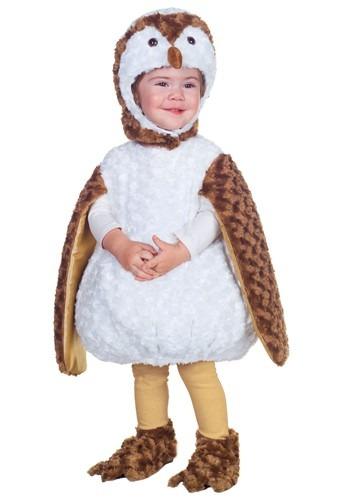 Disfraz de búho blanco para niños pequeños