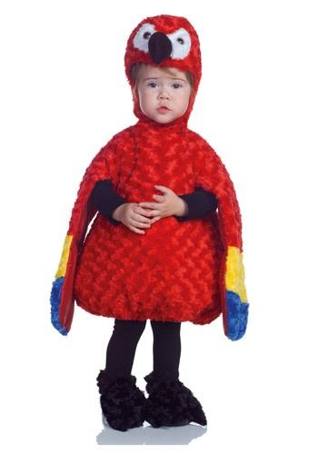 Disfraz de loro para niños pequeños