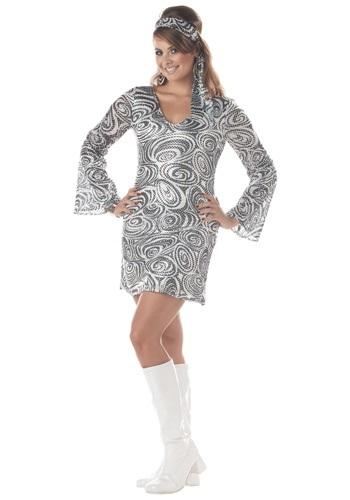 Vestido de Diva de Disco talla extra