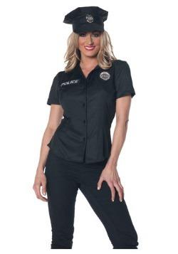 Traje de la camisa de la policía de las mujeres