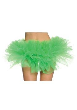 Tutu verde femenino