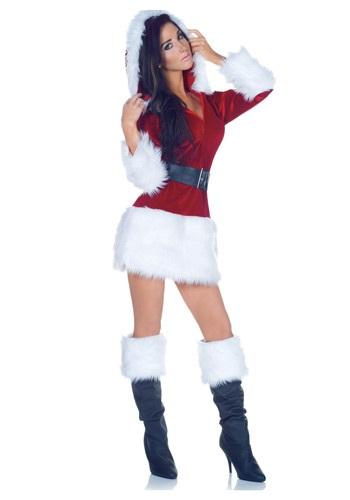 Disfraz sexy de Santa Todo envuelto