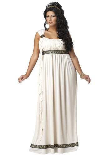 Disfraz de Diosa Olímpica talla extra
