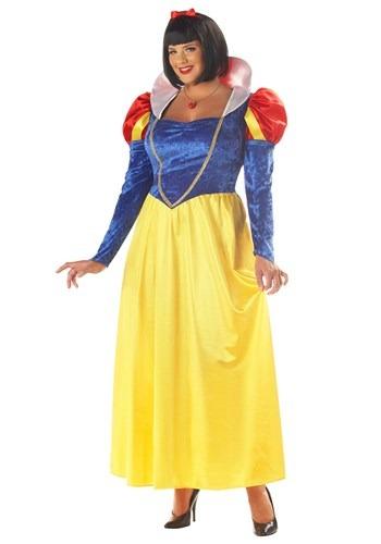 Disfraz de Blancanieves para mujer talla extra