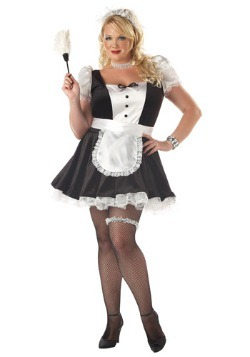 Disfraz de Fiona la sirvienta francesa talla extra