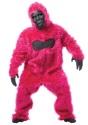 Disfraz de gorila rosa