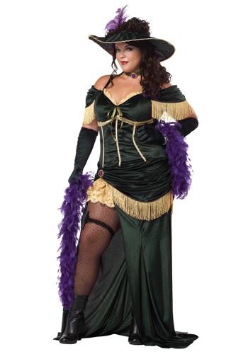 Disfraz de madame de salón talla extra