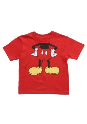 Camiseta disfraz de Mickey Mouse para niños pequeños