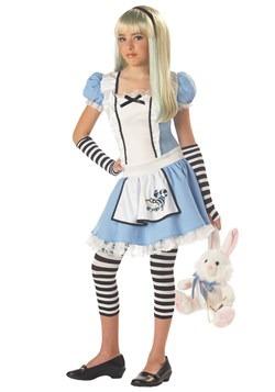 Disfraz de Alice tween