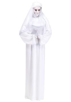 Disfraz de madre superiora blanco