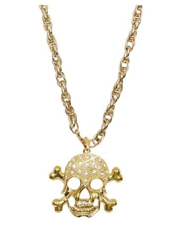 Collar dorado de pirata