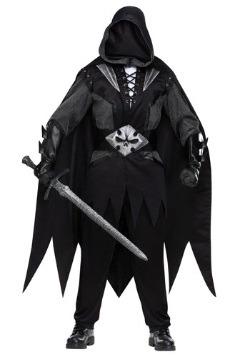 Disfraz de caballero malvado para hombre