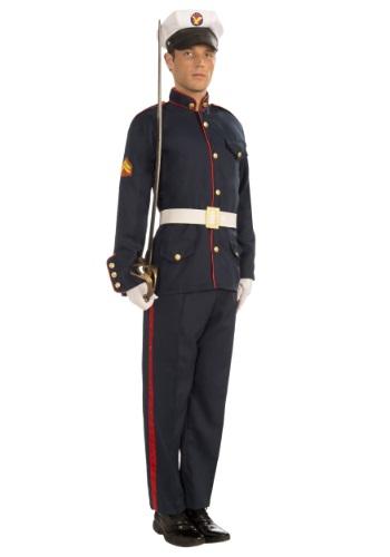 Disfraz de infante de marina formal para adulto