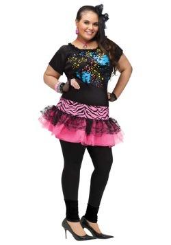 Disfraz de fiesta pop de los años 80