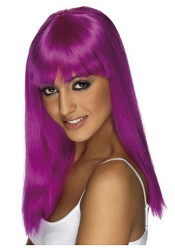 Peluca morada neon de Glamourama