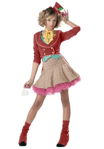 Disfraz de Sombrerero Loco para chicas adolescentes