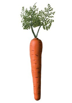 Accesorio de zanahoria de conejito