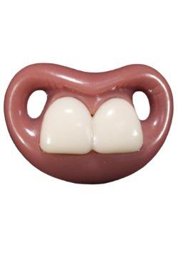 Chupón de dos dientes delanteros