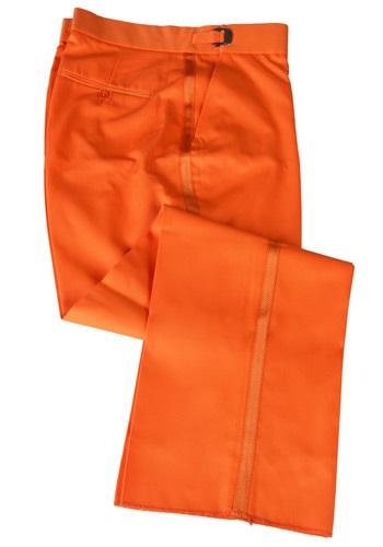 Pantalones de esmoquin naranjas