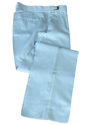 Pantalón azul de esmoquin